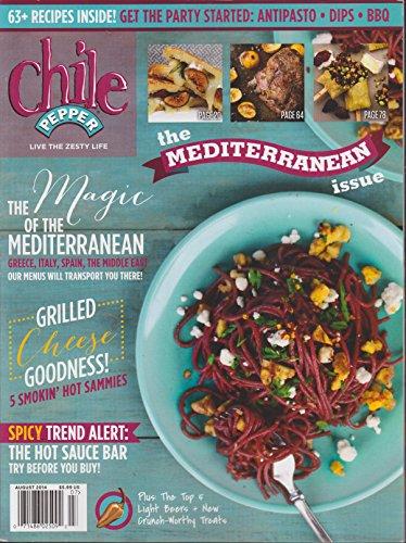 Chile Pepper Magazine August 2014