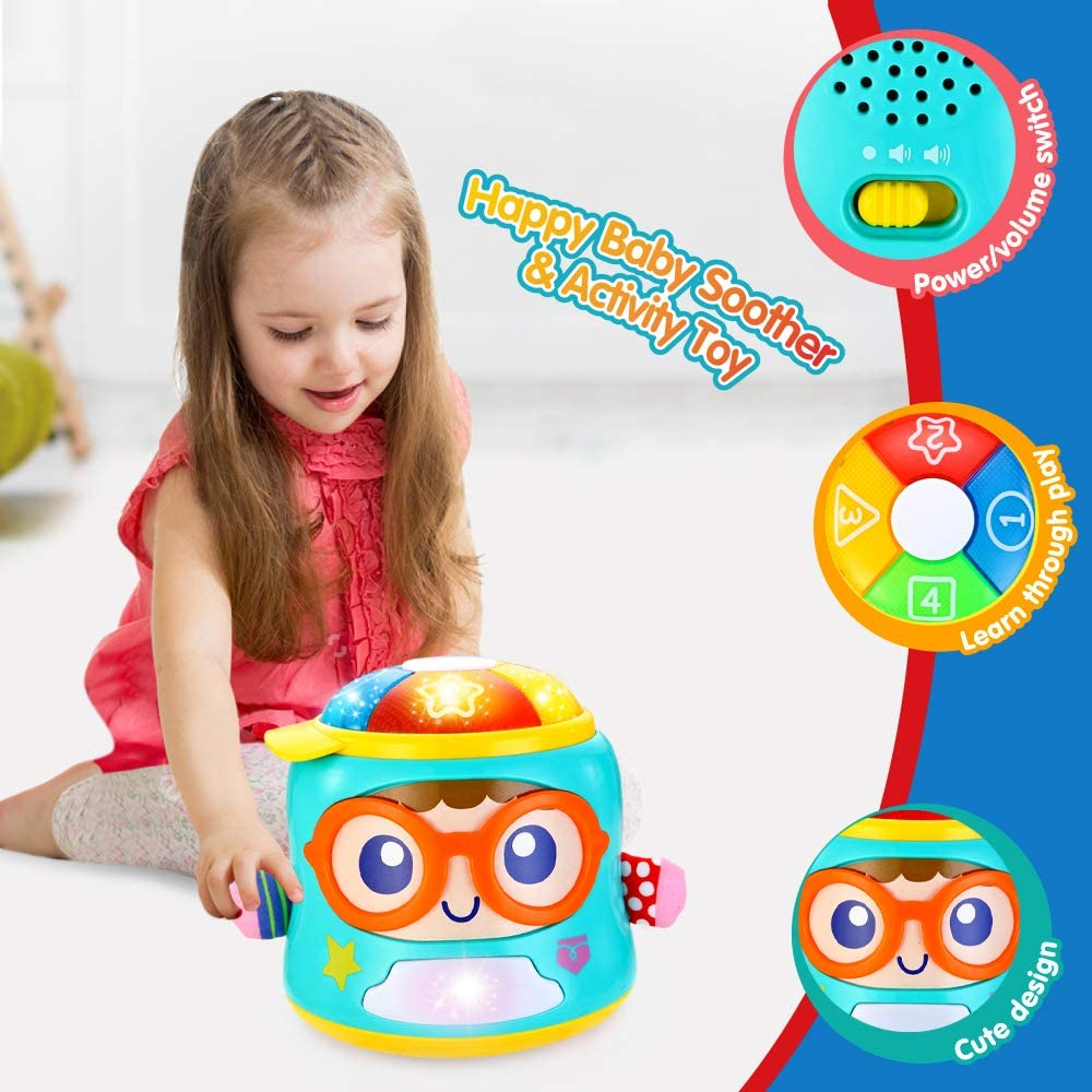 Infant Toys Tumbler Soother Baby Sensory Musical Toys for ...