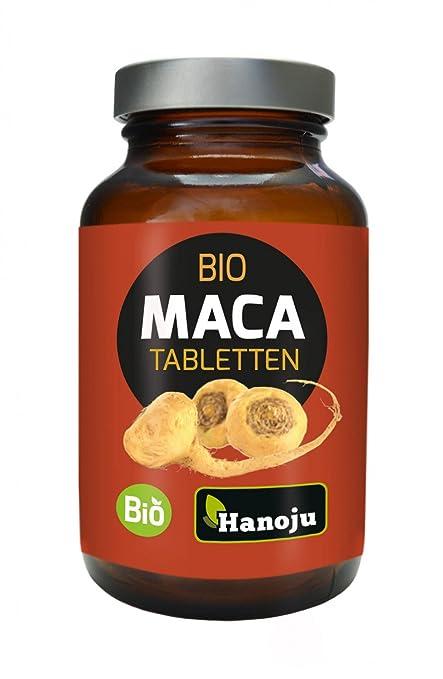 Hanoju – Maca rojo Bio – 300 pastillas