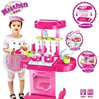 AJUDIYA ENTERPRISE Luxury Battery Operated Kitchen Play Set Super Toy for Kids