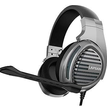 LUPSAN - Auriculares de Diadema con micrófono para Xbox One ...