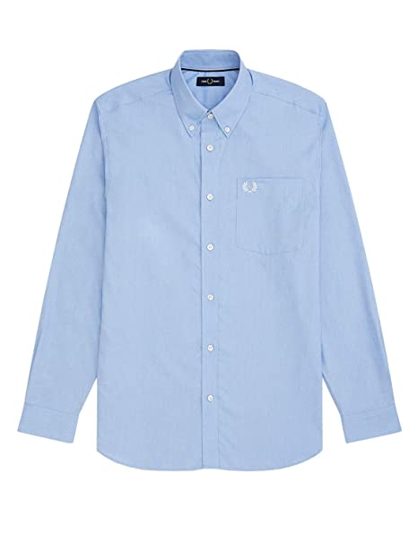 Fred Perry Mens Oxford Shirt: Amazon.es: Ropa y accesorios