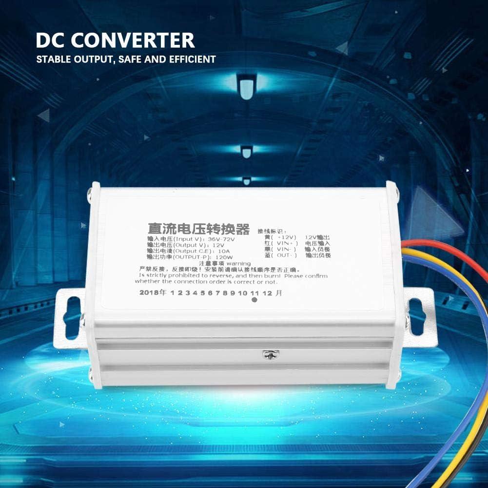 36V-72V to 12V Step Down Voltage Converter Module 10A 120W Adjustable Buck Power Supply Module for Voltage Conversion DC-DC Converter Module