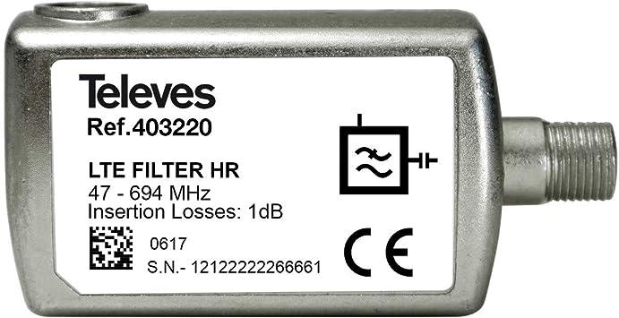 Filtro LTE 5G para Equipos con Conector F