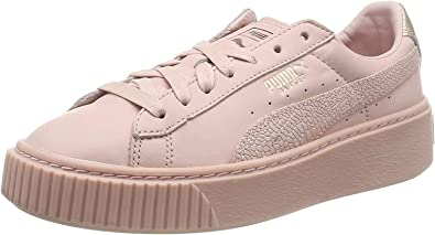 Amazon.com: PUMA Shoes Woman Low Sneakers with 366814 03 ...