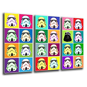 Cuadro Fotográfico Ejercito Darth Vader, Star Wars Tamaño total: 97 x 62 cm XXL 5