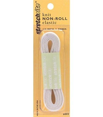 1//4 Dritz 9320W Knit Non-Roll Elastic White