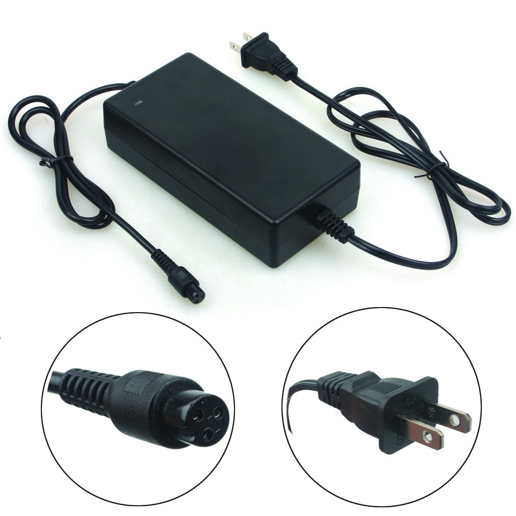 Wingsmoto 36V 42V 2A 2-Wheel E-bike Electric Scooter Battery Charger Lithium Battery Adapter