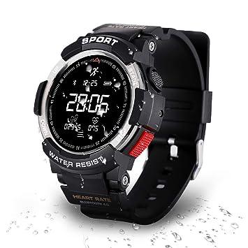 Reloj deportivo, Rastreador de ejercicios para correr, Natación y Ciclismo Rastreador de actividades con
