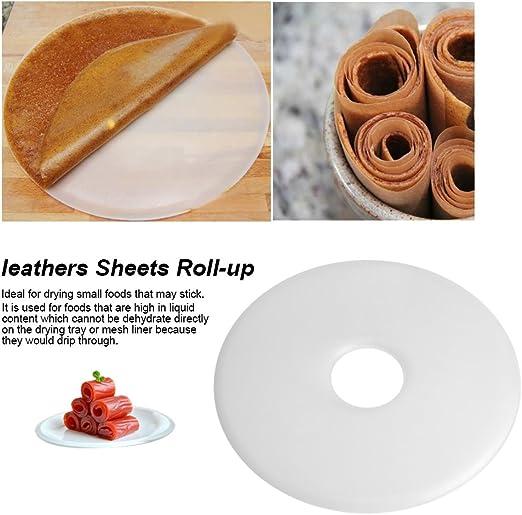 Fruit Roll-up Sheets Bandeja Deshidratador de Alimentos Secadora Cueros Fruit Roll Leathers Hojas Roll Up BLLBOO Fruit Roll Sheets
