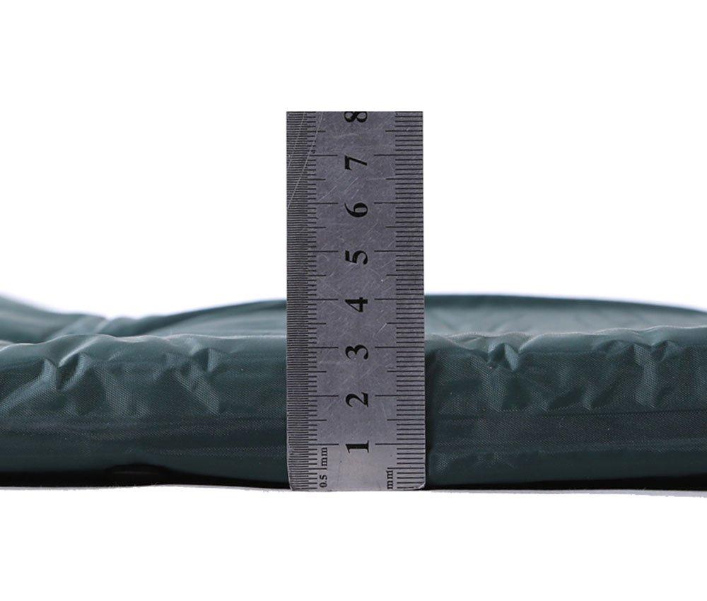 autohinchable colchones hidrófugo Colchón de aire portátil camping Isomatte Matte - Vade con almohada con para camping, 3 cm de grosor 1 personas & # xff08; ...