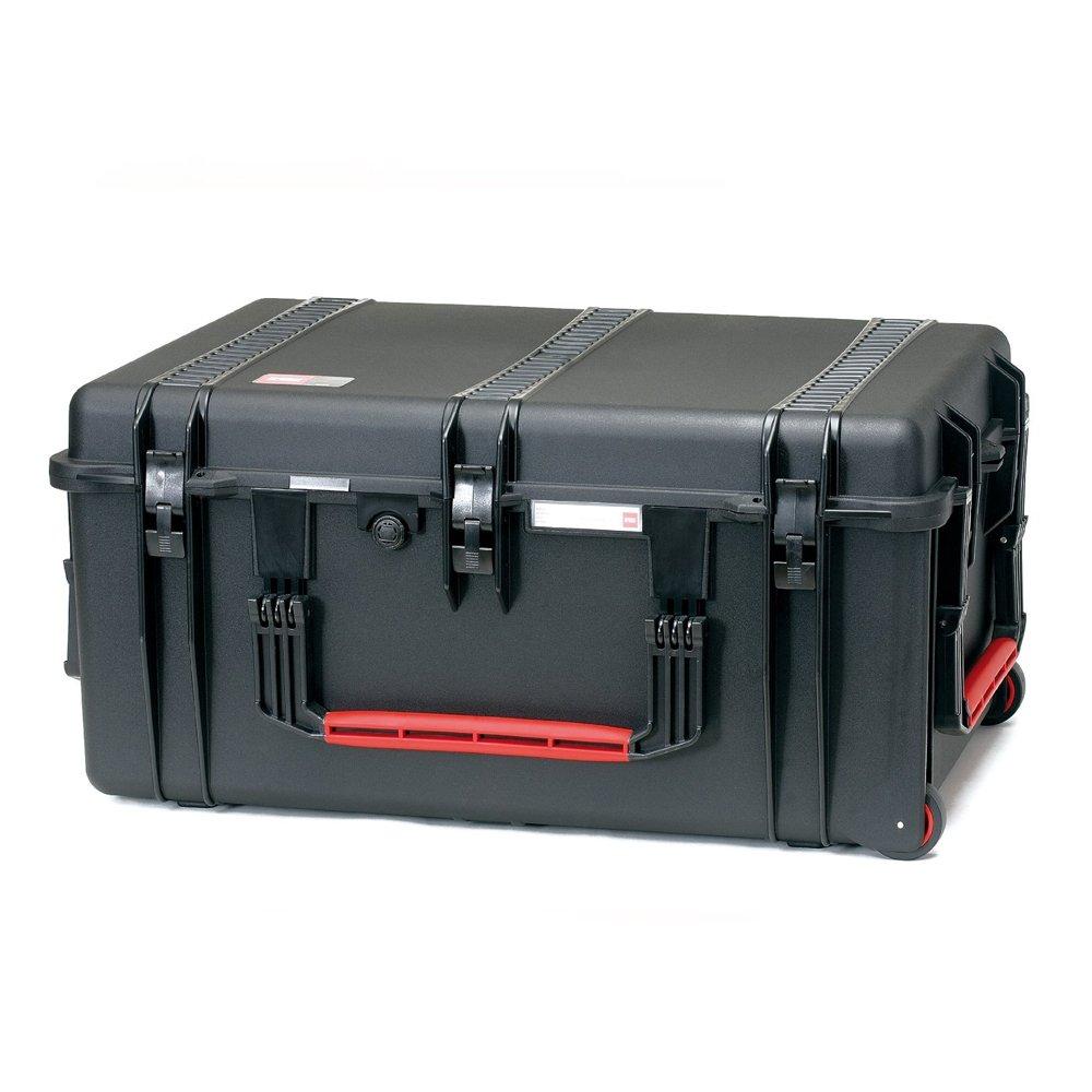 HPRC 2700WIC Hardcase mit Rollen (TX01 Material, 65 Liter Volumen, mit Interior Case) schwarz