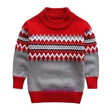 Knitted Sweater for Boys Autumn Winter Boy Sweater Children