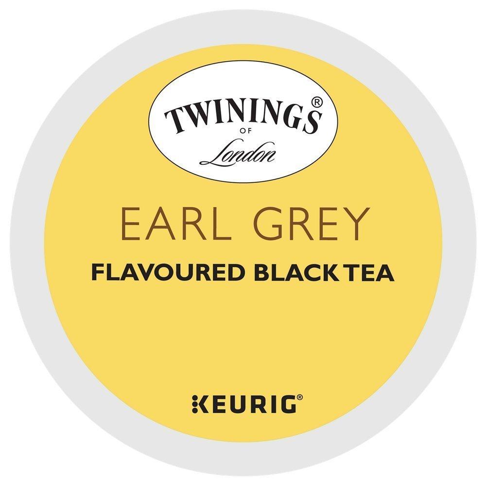 Twinings Earl Grey Tea Keurig K-Cup Pods (48 Count)