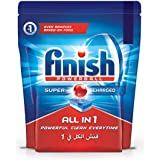 Finish All in 1 Dishwasher Detergent Tablets, Original, 56 Tablets
