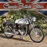 Vintage Motorcycle Calendar - Classic Motorcycle Calendar - Calendars 2017 - 2018 Wall Calendars - Motorcycle Calendar - Classic British Motorbikes 16 Month Wall Calendar by Avonside