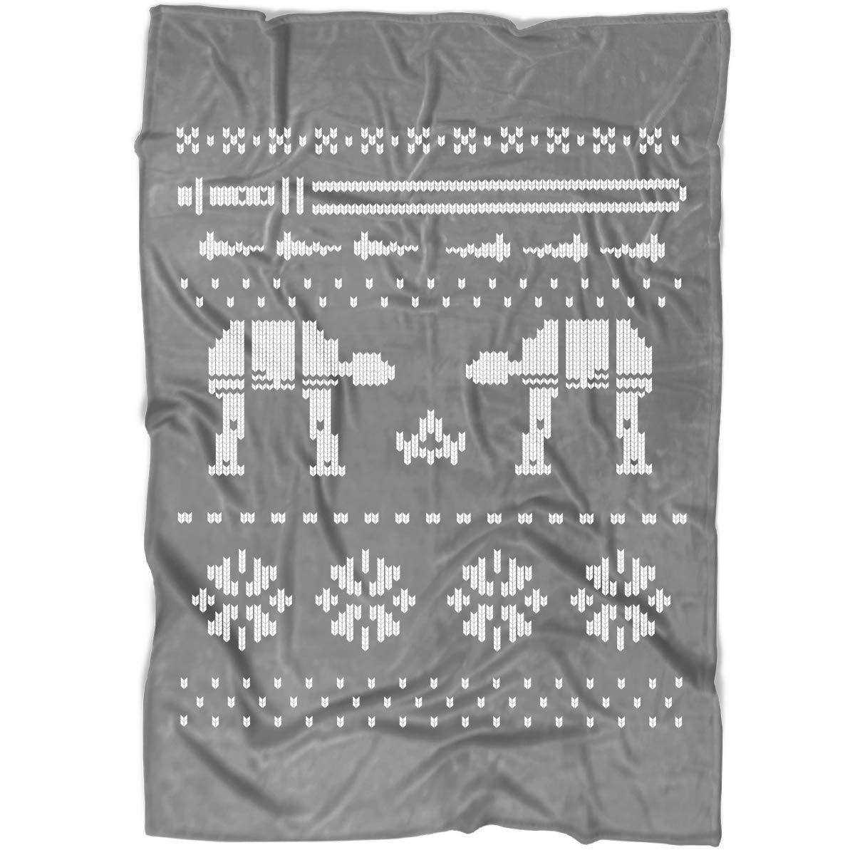 Amazon.com: UTAMUGS at at Walker Christmas Blanket for Bed ...