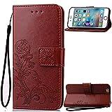 iPhone 7 Plus Case,iPhone 7 Plus Cases,Creativecase [Wallet Case]PU Leather Flip Case [Magnetic Closure]+Lanyard Case for iPhone 7 Plus 5.5 inch (#Cover5)