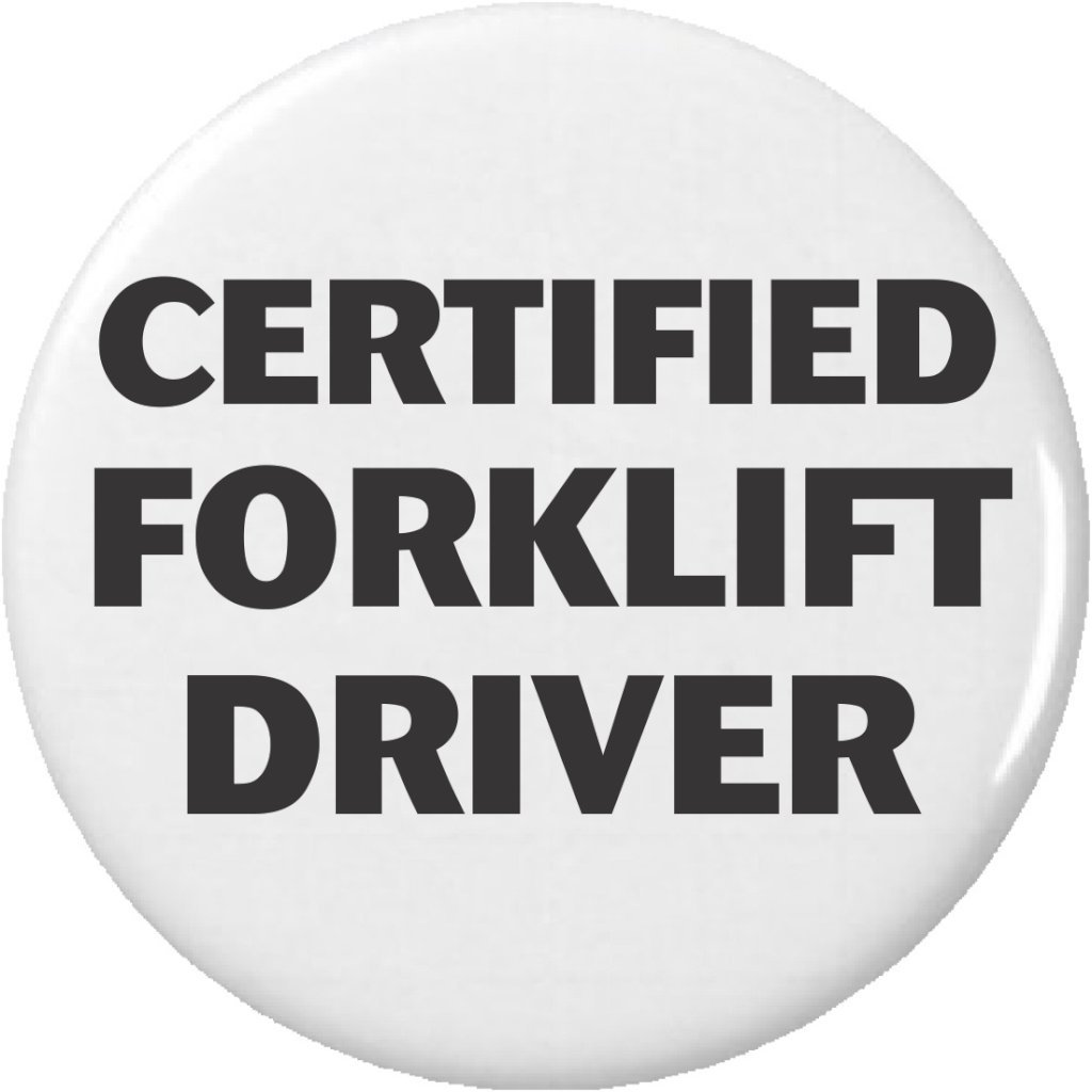 Amazon Certified Forklift Driver 225 Large Magnet Kitchen