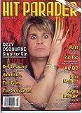 Hit Parader Magazine OZZY OSBOURNE Scorp...