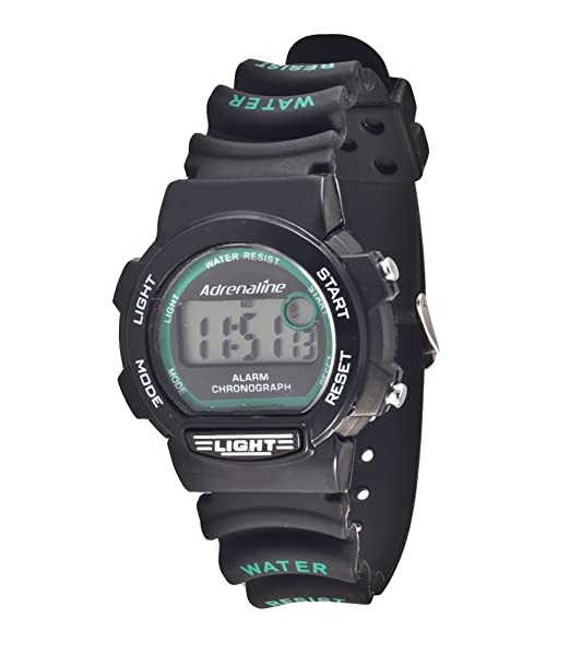 Freestyle AD50701 - Reloj digital de cuarzo para mujer con correa de caucho, color negro: Amazon.es: Relojes