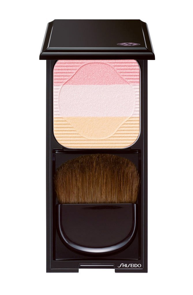 Shiseido Face Color Enhancing Trio # PK1 Lychee Blush for Women, 0.24 Ounce