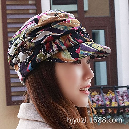 3 Women's Adjustable Beach Floppy Sun Hat