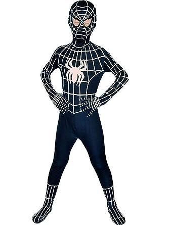amazoncom barfest boys venom black cosplay spandex bodysuit halloween costume clothing