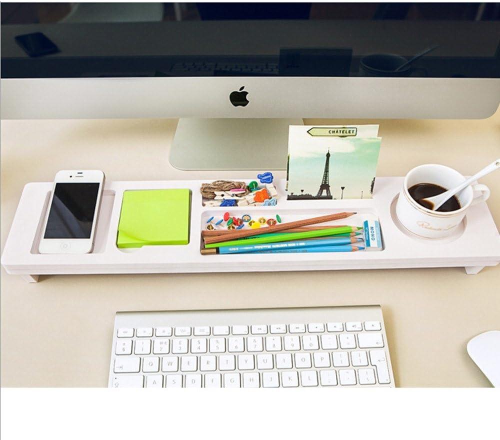 White Desk Organisers Desk Tidy Box Desktop Organiser Office Small