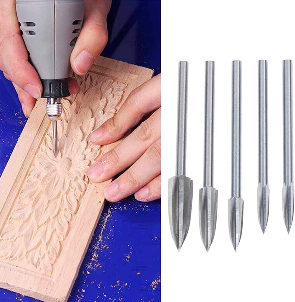 5pcs//set Art Wood Hand Carved Chisels DIY Tool Set Woodworking Carving