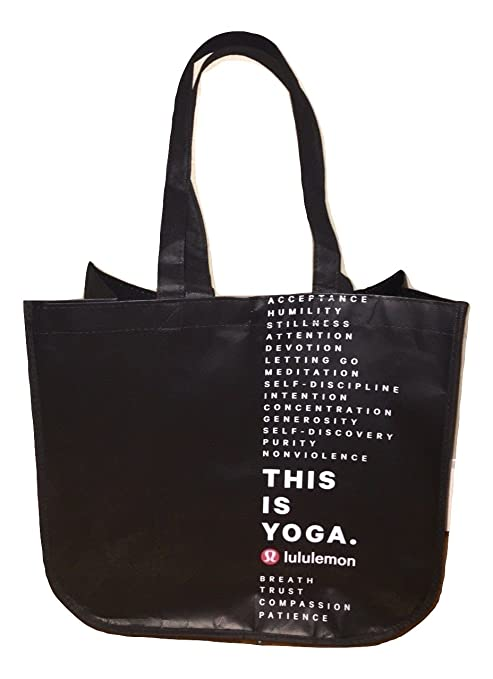 265357f1db Lululemon Holiday Special Edition LARGE Reusable Tote Carryall Gym Bag