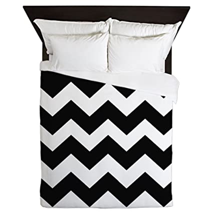 Amazon Com Cafepress Bold Black Border Queen Duvet Cover Printed