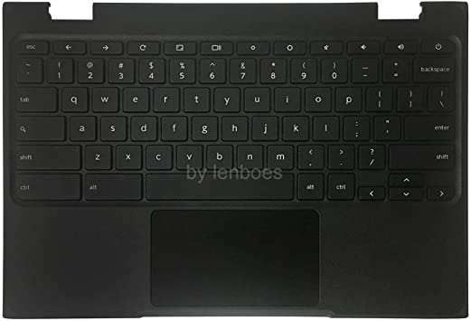 Lenboes - Funda superior con teclado y almohadilla táctil para ...