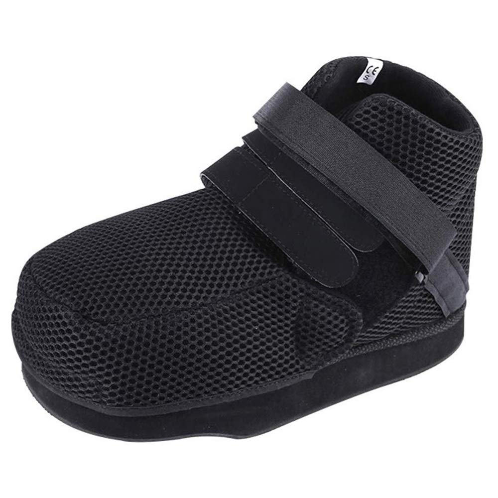 YxnGu Post-Op Shoes with Adjustable Straps - Walking Post-Op Shoe Protection Cast Boot for Broken Toe/Foot Fracture (Size : M)