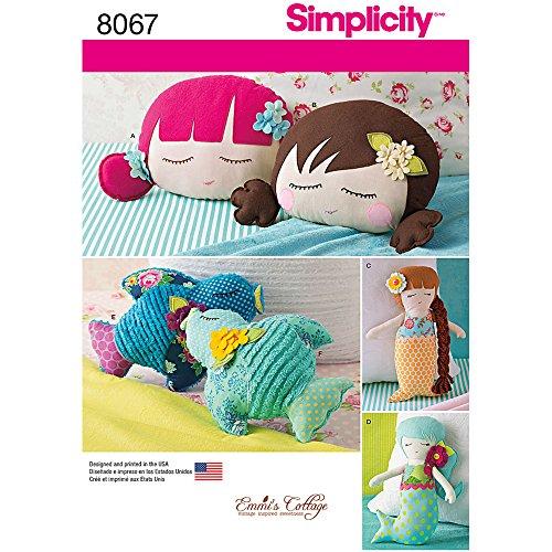 Simplicity Patterns Stuffed Pillows Mermaids product image
