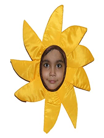 ef929abe9 Buy Flower Fancydress Costume For Kids (6-8 YRS, Yellow) Online at ...