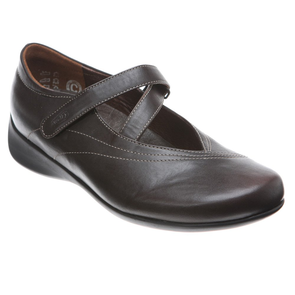 Wolky Comfort Mary Janes Silky B002E1GGRO 42 M EU / 10.5-11 B(M) US|Cafe Smooth Leather