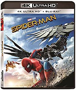 Cover Image for 'Spider-Man: Homecoming [4K Ultra HD  Blu-ray + Digital]'