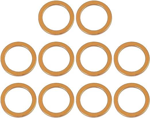 F FIERCE CYCLE 25mm ID 33mm OD Moto /Échappement Tube Joint 5 pi/èces