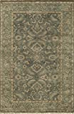 Momeni Rugs SHALISL-07BLU2030 Shalimar Collection, 100% Wool Hand Knotted Traditional Area Rug, 2' x 3', Blue