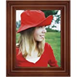 RPJC 8x10 Wlide-Frame Picture Frame Made of Solid Wood High Definition Glass for Table Top Display and Wall Mounting…