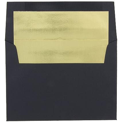 Amazon jam paper a7 foil lined invitation envelopes 5 14 x jam paper a7 foil lined invitation envelopes 5 14quot x 7 1 m4hsunfo