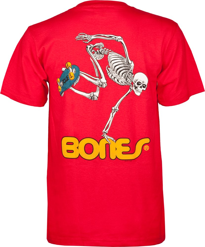 Powell-Peralta Skateboard Skeleton Black T-Shirt 2XL Skate One Corporation CTMPPSBSX2X