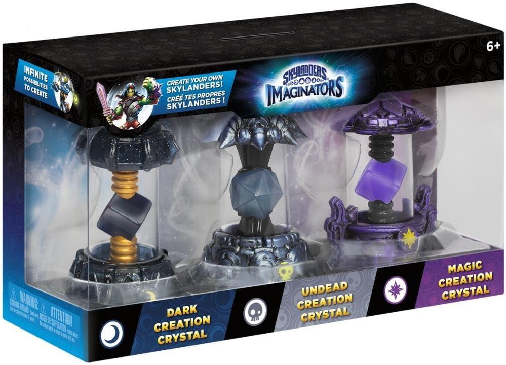 Activision - Skylanders Imaginators Crystals, 3 Pack 4 (Dark5 - Magic4 - Undead2): Amazon.es: Videojuegos