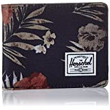 Herschel Supply Co. Men's Roy Wallet, Peacoat Floria, ONE SIZE