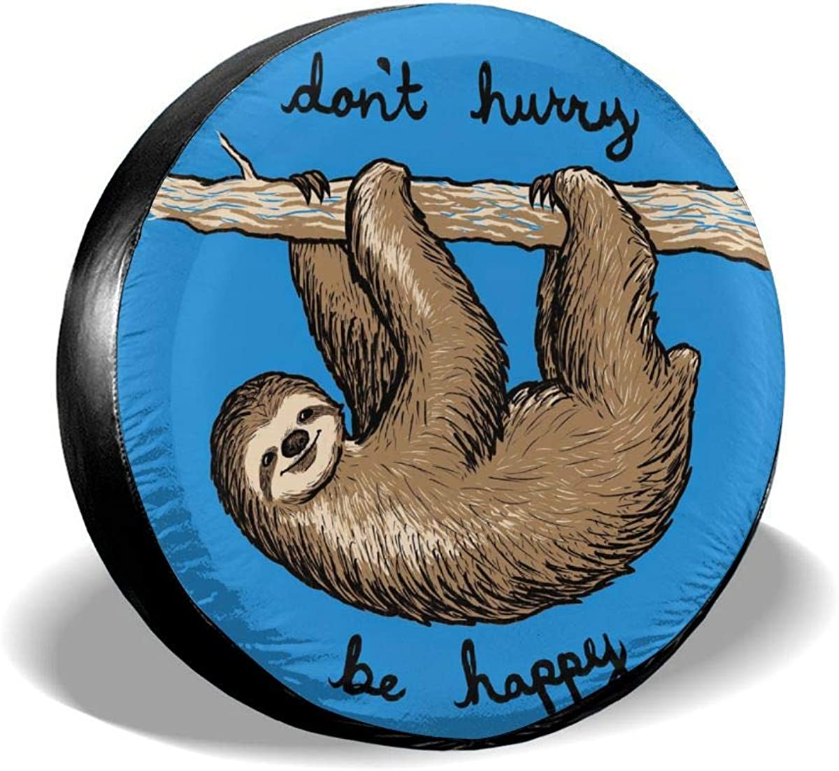 Sloth Leader Accessories Spare Tire Cover,Waterproof Dust-Proof Fit 23-32 Inches