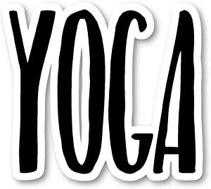 Yoga Sticker Inspirational Quotes Stickers - Laptop Stickers - Vinyl Decal - Laptop, Phone, Tablet Vinyl Decal Sticker S183185