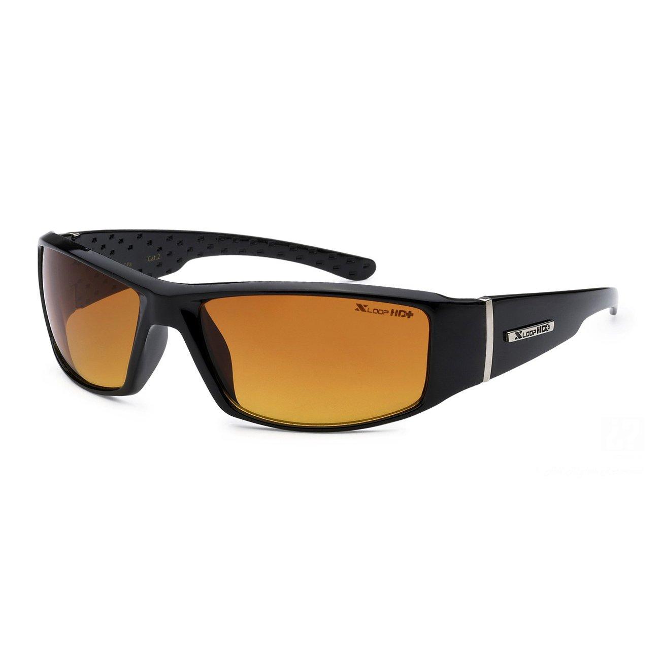 e76d537e595 Amazon.com  MODA Xloop Hd Vision Black High Definition Anti Glare Lens  Sunglasses Black 4098a  Shoes