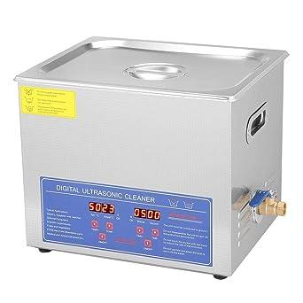 Limpiador por ultrasonidos, 10 L, digital, limpieza por ...