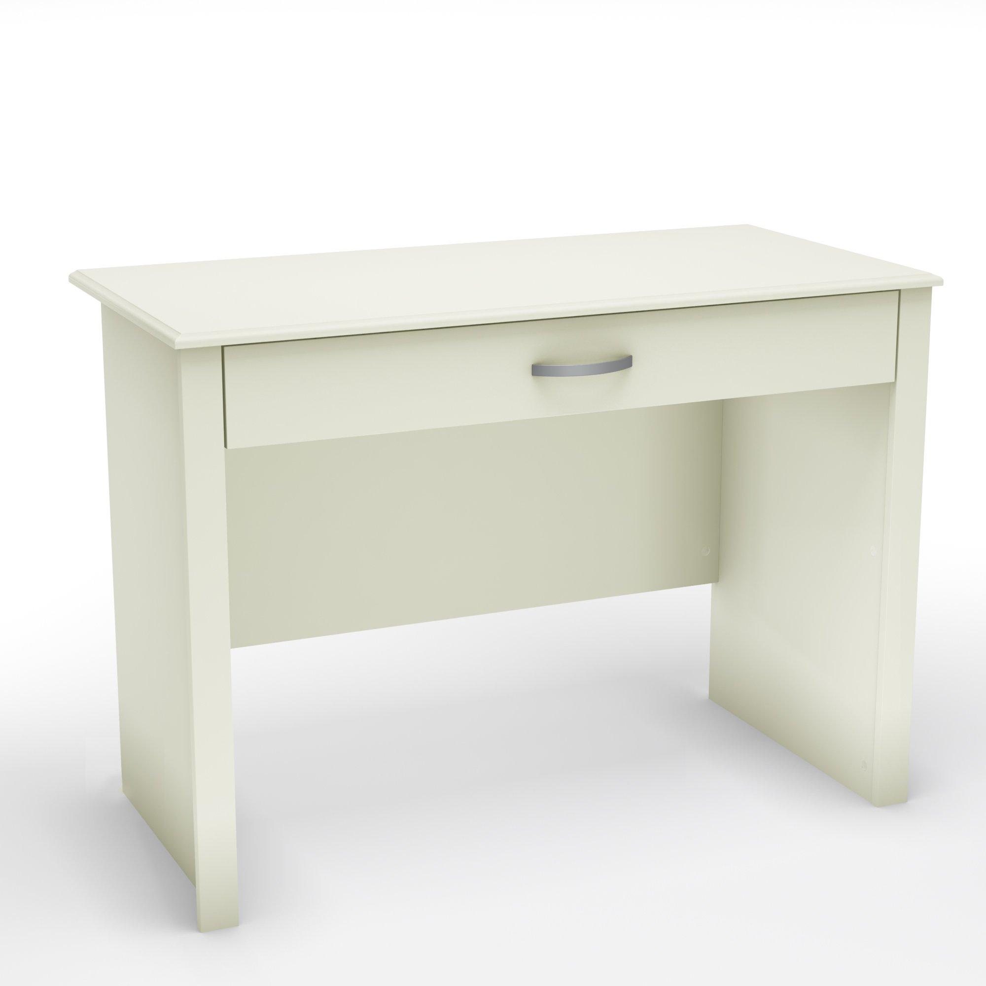 South Shore Small Computer Desk, Pure White